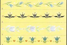 цветы.тагильская живопись