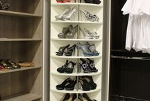 The Revolving Closet Organizer - A must have in every walk-in closet / Innovative closet system - A dream come true for small spaces. It is the only true system that can expand your storage capacity, Use it to display your shoes, folded clothes, boots, pocketbooks, safe, even hang clothes and add some drawer into it.  Be creative and customize it to your needs. It can be sold by itself and require 2 people to assemble it, It is now available in many colors and ships out within 12 days. http://www.LogicalDesignConcepts.com 954.589.1976