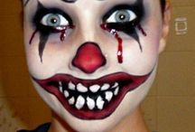 Hallowen. Maquillaje / Maquillajes que dan miedo