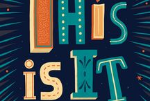 Font design / typography ideas