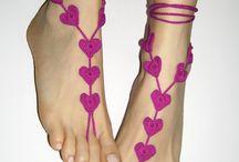 krajka na nohy , ruce