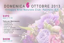 Mondo Sposa / Domenica 6 Ottobre Villaggio Arco Naturale Palinuro  Expo e sfilate con la presenza della splendida Paola Caruso dal programma Avanti un Altro di Canale 5