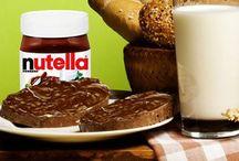 Café da manhã com Nutella