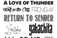 Fuente, tipografía