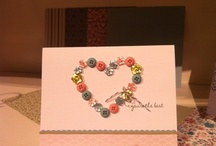 Cardmaking- Brads, Buttoms & Bling / by Inky Jane