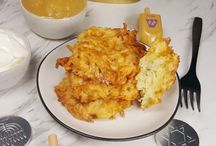 Potatoes latkes