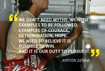 The late great Ayrton Senna