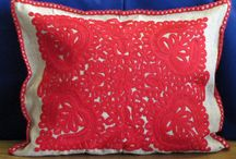 Cushion / Beautiful cushion and pillow in traditional Hungarian style. Most of them are embroidered.