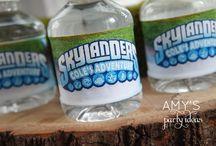 skylanders party / by Sarah Burke