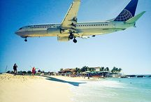 Maho Beach, St Maarten / Princess Juliana International Airport (SXM)