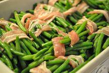 Kartofler, grønt og salater