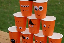 Childrens Halloween crafts - see also childrens printables / by Jane Carlisle