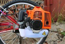 Rower + silnik