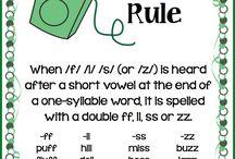 Spelling/phonics