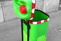 botes basura reciclables