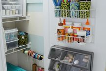 Get the craft closet under control / by Michelle Sprouse