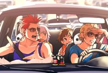 AkuRoku / Axel x Roxas from Kingdom Hearts