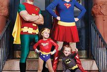 disfraz superheroes