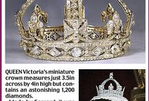 Tiary angielskie - Queen victoria crown