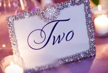 Table Design - Table Numbers / by Tori - Platinum Elegance Weddings & Events