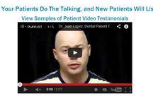 Dental Patient Video Testimonial Service / AIM Dental Marketing offers a dental patient video testimonial service which helps dental practices to secure quality video patient testimonials .