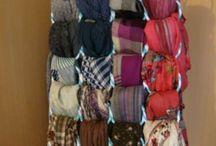 percha para bufandas.