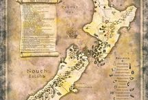 map NZ middle earth