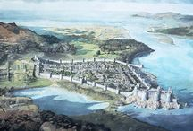 Illustrazioni di castelli / Illustrazioni e disegni di castelli