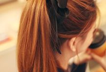LOOKBOOK + Red hair
