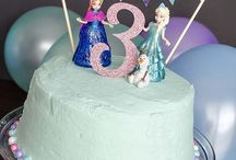 Frozen Cakes / Frozen celebration cakes