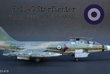 """F-104G STARFIGHTER """"336MDB OLYMPOS """""""