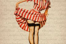 Pin up princesses / Saucy!! / by Chicuei Tlaloc