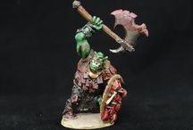 Miniatures / Miniatures, D&D, War Hammer/40k