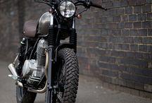 Scrambler Motorcycles.