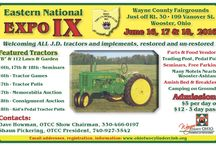 Eastern National John Deere Expo / The purpose of the Ohio Two Cylinder Club is to promote the interest in the preservation, restoration, and exhibition of antique tractors, particularly John Deere two cylinder models including machinery, lore, and literature.