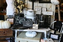 Witchy / Ideas for Halloween decorating.