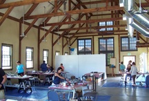 Where I teach Encaustic
