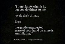 Dark Erotica Quotes