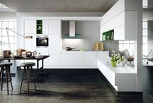 White kitchens from Contur German kitchens / White kitchens in matt or gloss finishes
