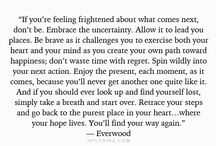 Embracing uncertainty / by English Rose