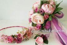 gelin çiçekleri, buket ,wedding flowers, gelin çiçeği fikirleri, kendin yap