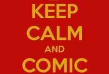 Keep calm comic