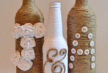 Zdobené fľaše