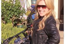 Me and my bike<3 / 2013 Honda Shadow Phantom in Matte Black