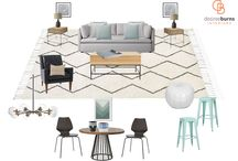 Design Your Mood / Desiree Burns Interiors Moodboards
