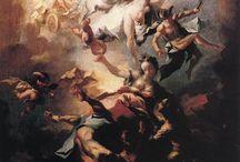 Franz Anton Maulbertsch / Rakouský malíř a rytec, patří k významným představitelům pozdního baroka a rokoka ve střední Evropě. V závěru svého života se přikláněl ke klasicismu.