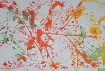 Autumn Leaves / Rubbings of autumn leaves created by the children in our early childhood program, ages 3 to 5.  / by Metropolitan Montessori School