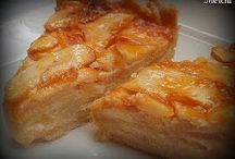 tarta de almendras y manzana