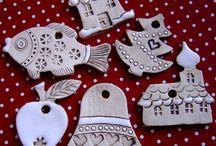 Keramika / Vánoční ozdoby