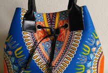 African style bags and shoes
